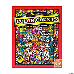 MindWare® Color Counts: Carnival Adult Coloring Book