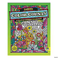 MindWare® Color Counts - Garden Coloring Book