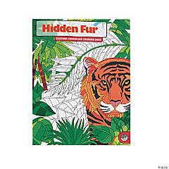 MindWare® Hidden Fur Adult Coloring Book