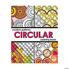 MindWare® Modern Patterns Circular Adult Coloring Book