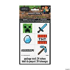 Minecraft® Temporary Tattoos