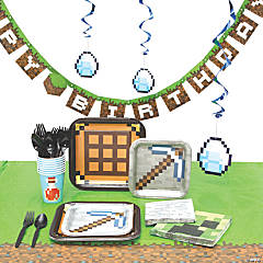 Minecraft Tableware Kit for 8