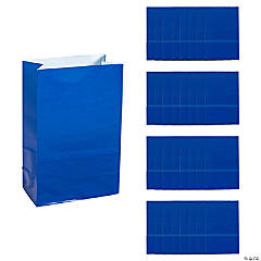 Mini Blue Treat Bags