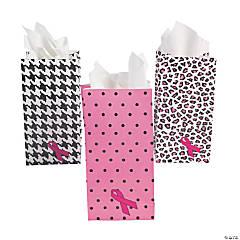 Mini Breast Cancer Awareness Treat Bags