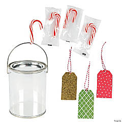 Mini Candy Cane Gift Kit for 24