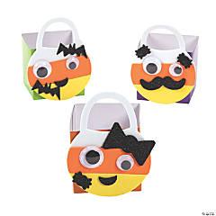 Mini Candy Corn Glitter Treat Bag Craft Kit