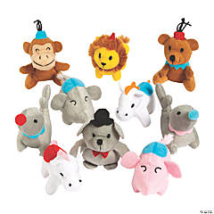Mini Carnival Stuffed Animal Assortment