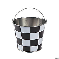 Mini Checkered Pails