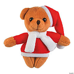 Mini Christmas Stuffed Bears
