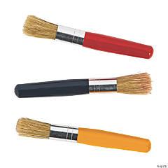 Mini Chubby Handle Paintbrushes