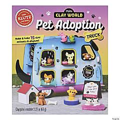 Mini Clay World Pet Adoption Truck Book Kit