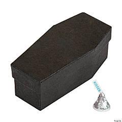 Mini Coffin Favor Boxes with Lids - 12 Pc.