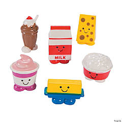 Mini Dairy Food Characters