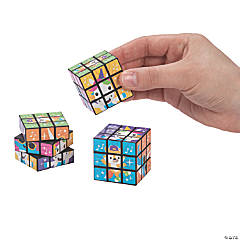 Mini Dancing Animals Puzzle Cubes