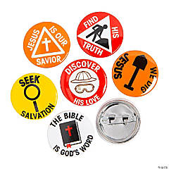 Mini Dig VBS Buttons