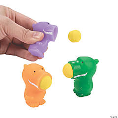 Mini Dinosaur Popper Ball Launchers