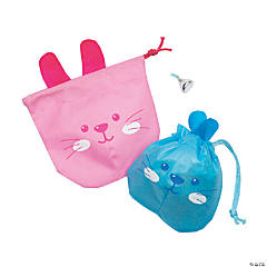 Mini Easter Drawstring Bags
