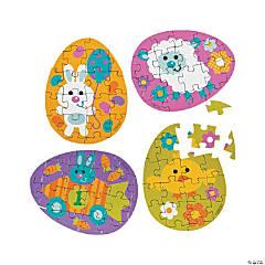 Mini Easter Egg Jigsaw Puzzles