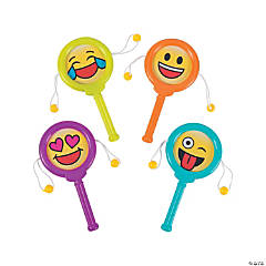Mini Emoji Noisemaker Drums