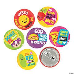 Mini Faith Food Buttons