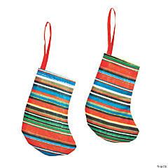 Mini Fiesta Stocking Ornaments