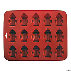 "Mini Fire Hydrant Silicone Cake Pan-8.5""X6.75"" 15 Cavity (1.75""X1.75"")"