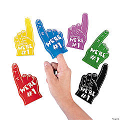 Mini Foam Fingers