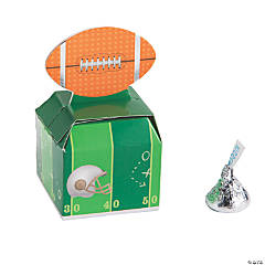 Mini Football Favor Boxes