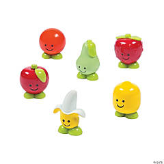 Mini Fruit Characters