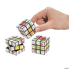 Mini Fun Fruit Puzzle Cubes