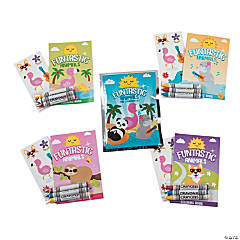 Mini Funtastic Animals Stationery Sets
