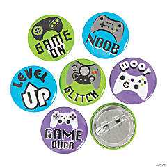 Mini Gamer Buttons