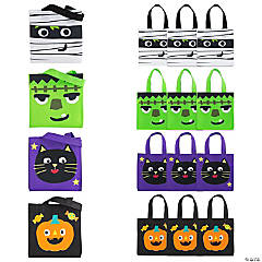 Mini Ghoul Gang Tote Bags
