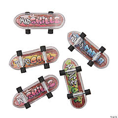 Mini Graffiti Skateboards