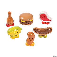 Mini Grilling Food Characters