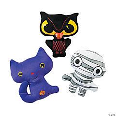 MIni Halloween Plush Pillow Character Assortment - 12 Pc.