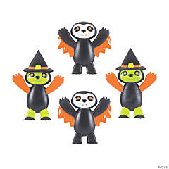 Mini Halloween Sloth Characters
