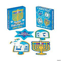 Mini Hanukkah Jigsaw Puzzles