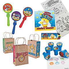 Mini Happy Birthday Jesus Handout Kit for 12