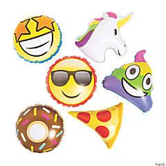 Mini Inflatable Emoji Characters