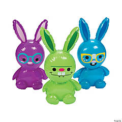 Mini Inflatable Fun Bunnies