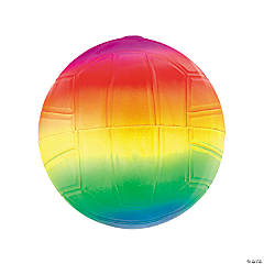 Mini Inflatable Neon Rainbow Balls