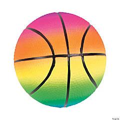Mini Inflatable Rainbow Basketballs