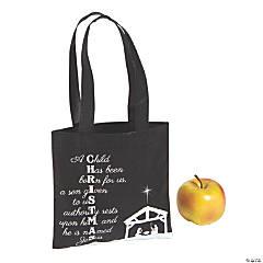 Mini Isaiah 9:6 Christmas Tote Bags
