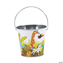 Mini Jungle Baby Shower Pails