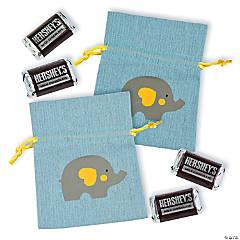 Mini Little Peanut Canvas Drawstring Bags