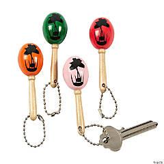 Mini Maraca Keychains