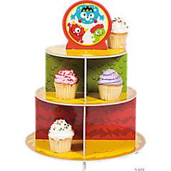 Mini Monster Cupcake Stand