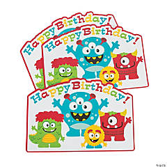Mini Monster Place Mats