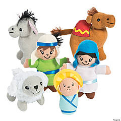 Mini Nativity Plush Character Set